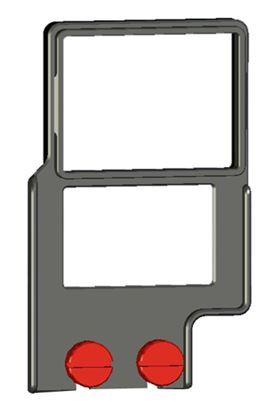 "Afbeelding van Z-Finder 3"" Mounting Frame for Small DSLR Bodies with Battery Grips"