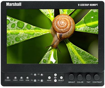 Picture of Marshall 7-inch High Resolution HDMI Monitor with Loop-Through
