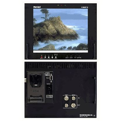 Bild von V-R104DP-2C Stand alone 10.4' LCD Monitor with 2 composite video inputs