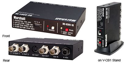 Picture of BC-0301-10 Converter, SDI to Video (SDI 10 Bit)